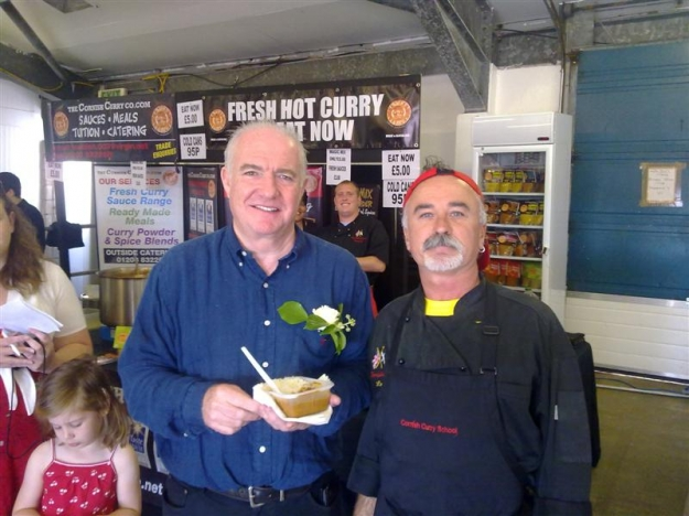 Louis and Rick Stein
